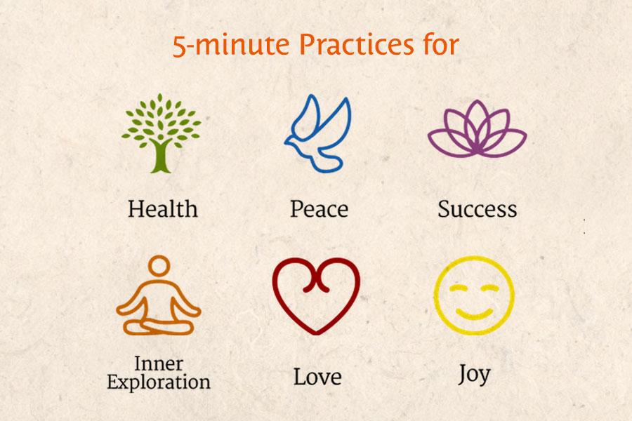 5-minute practices